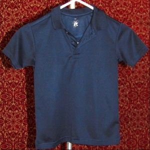 CHAPS Navy short sleeve polo shirt Boys S (8)